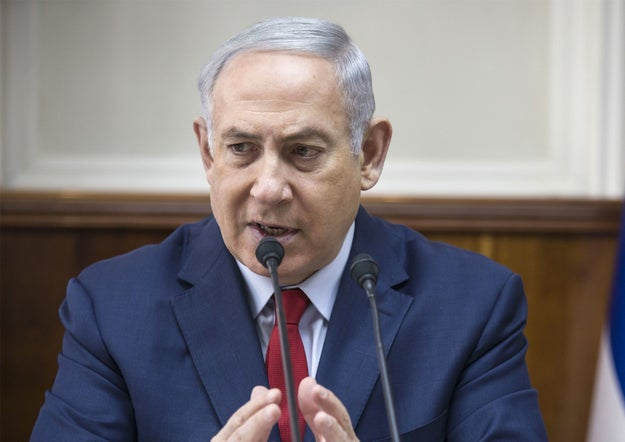 """""""We will under no circumstances accept any attempt to rewrite history,"""" Prime Minister Benjamin Netanyahu said in remarks to his cabinet on Sunday. Netanyahu also called Poland's prime minister to protest the legislation."""