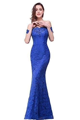 4c26f69500f An off-the-shoulder lace dress with rhinestone embellishments that ll turn  heads faster than a principal with a confiscated flask. Share On Facebook  ...