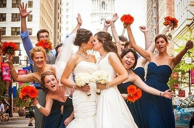 16 photos de mariage de couples lesbiens qui vous redonneront foi en l\u0027amour