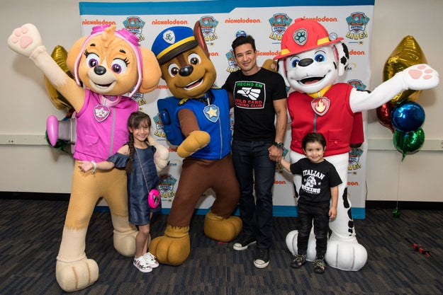 If you don't have any kids in your life, here is a brief explanation. PAW Patrol is a Canadian TV series about a boy named Ryder who manages a team of talking puppies who run emergency services for a town called Adventure Bay.