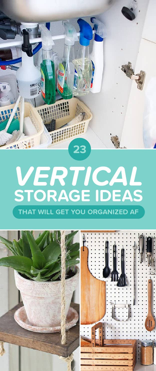 23 Vertical Storage Ideas To Make Everything OK (In Your Apartment)