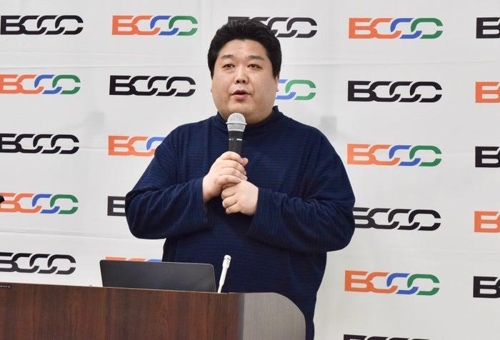 BCCC副代表理事の杉井靖典さん