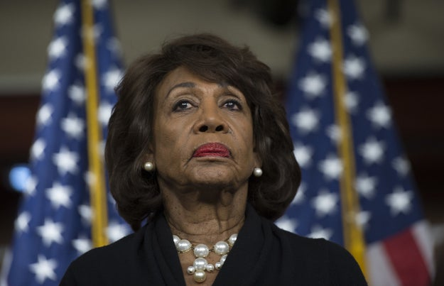 Maxine Waters is giving a national address on BET after Trump's State Of The Union