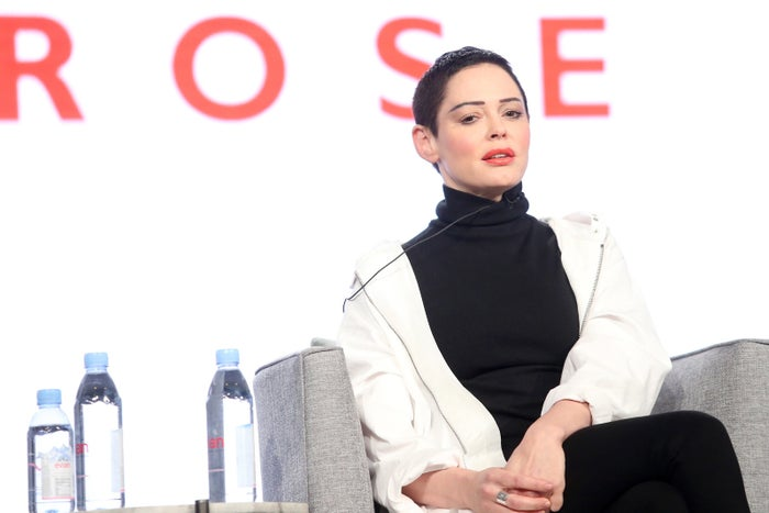 Artist and activist Rose McGowan