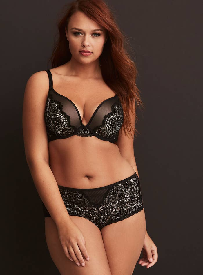 54f0f6810fc A sexy AF plunging lace set so you can finally find that flirty look you ve  been dreaming of.