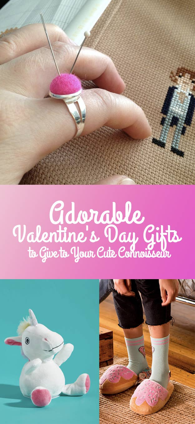 32 Adorable Valentine\'s Day Gifts To Give To Your Cute Connoisseur