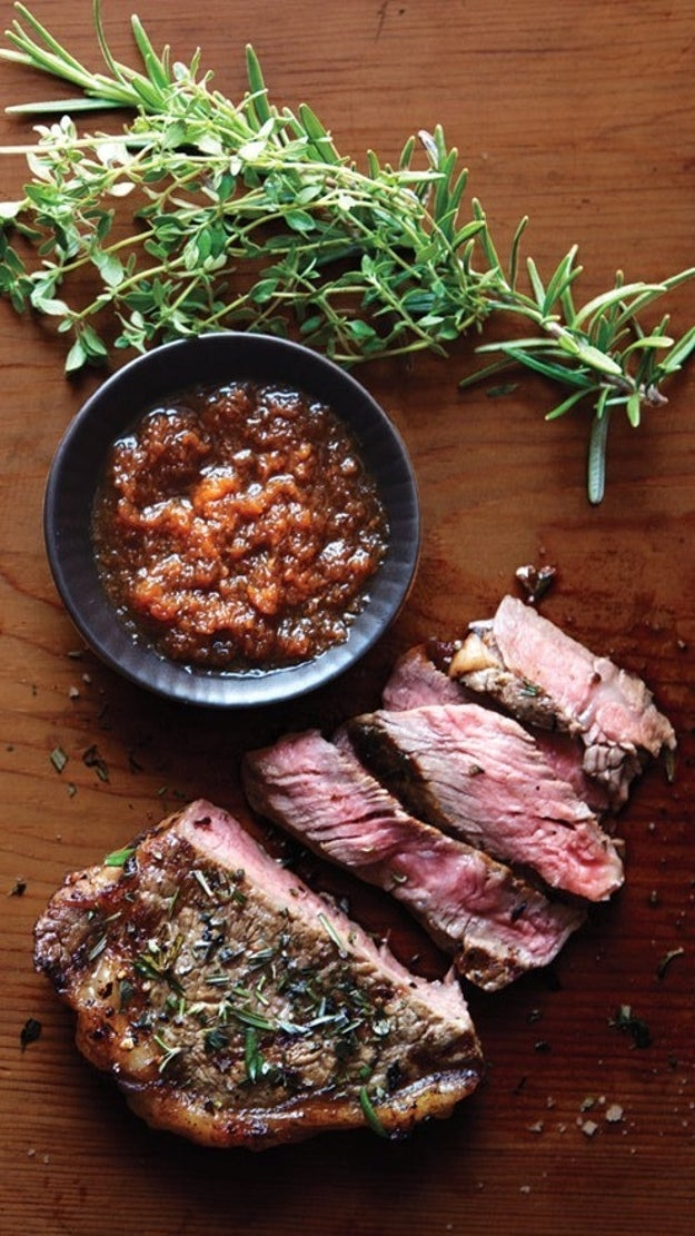 Grilled Skirt Steak with Japanese Dipping Sauce