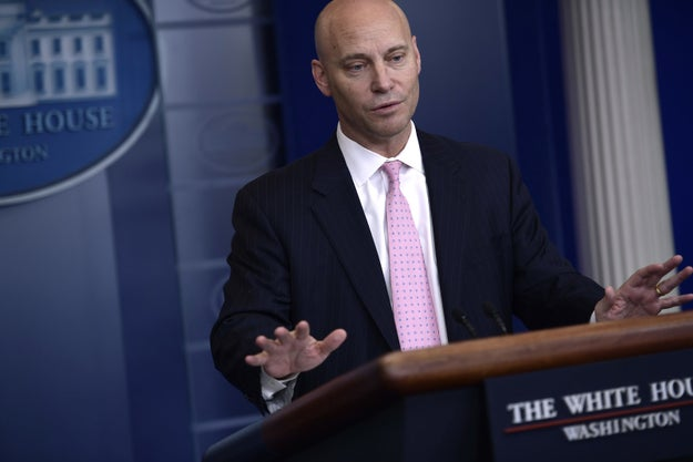 Marc Short is one of President Trump's top aides in the White House as his director of legislative affairs.