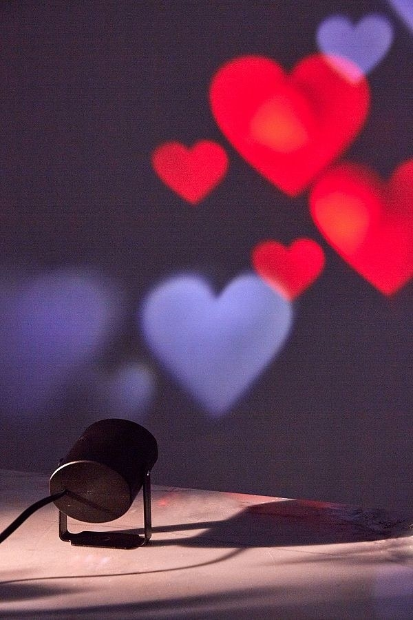 A Heart Projector To Take Mood Lighting To A New Level By Turning Your Room  Into A Valentineu0027s Day Card.