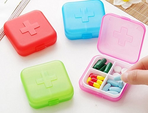 This mini first aid kit case to help you play doctor.