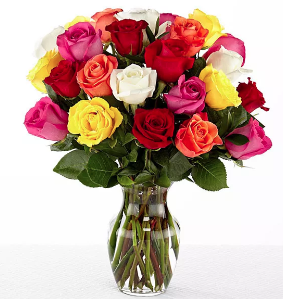 Заказ, букет из 23 роз своими руками фото
