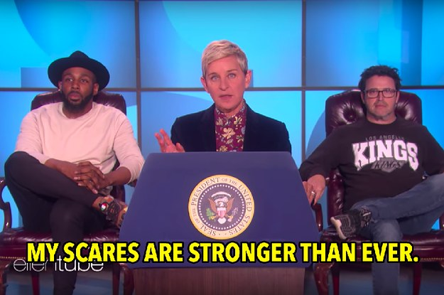 Ellen Delivered Her Own State Of The Union Address And It Was Everything This Country Needs