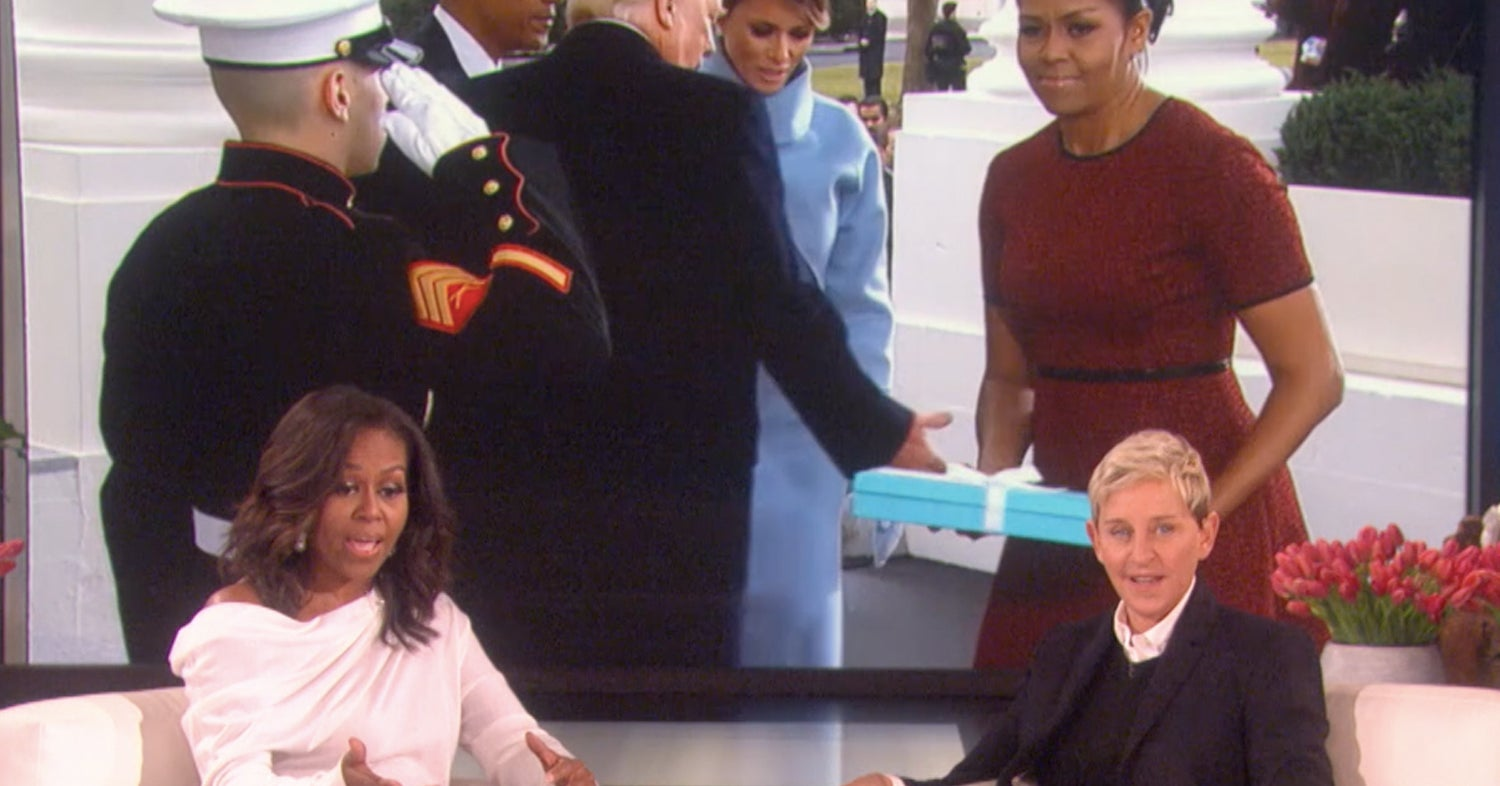 Michelle Obama Finally Revealed What Melania Trump Gifted Her At The Inauguration, And Why It Looked Awkward AF