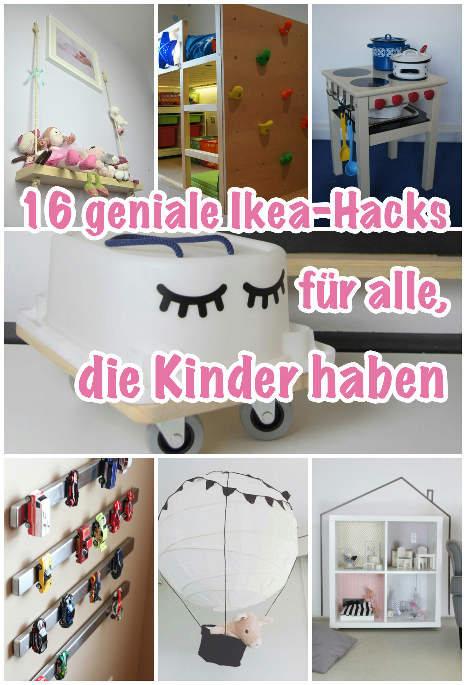 16 geniale ikea hacks die jedes kinderzimmer sch ner und gem tlicher machen. Black Bedroom Furniture Sets. Home Design Ideas