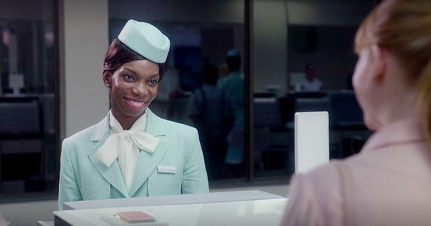 """""""USS Callister"""" was also not the first time we had seen actress Michaela Coel on Black Mirror."""