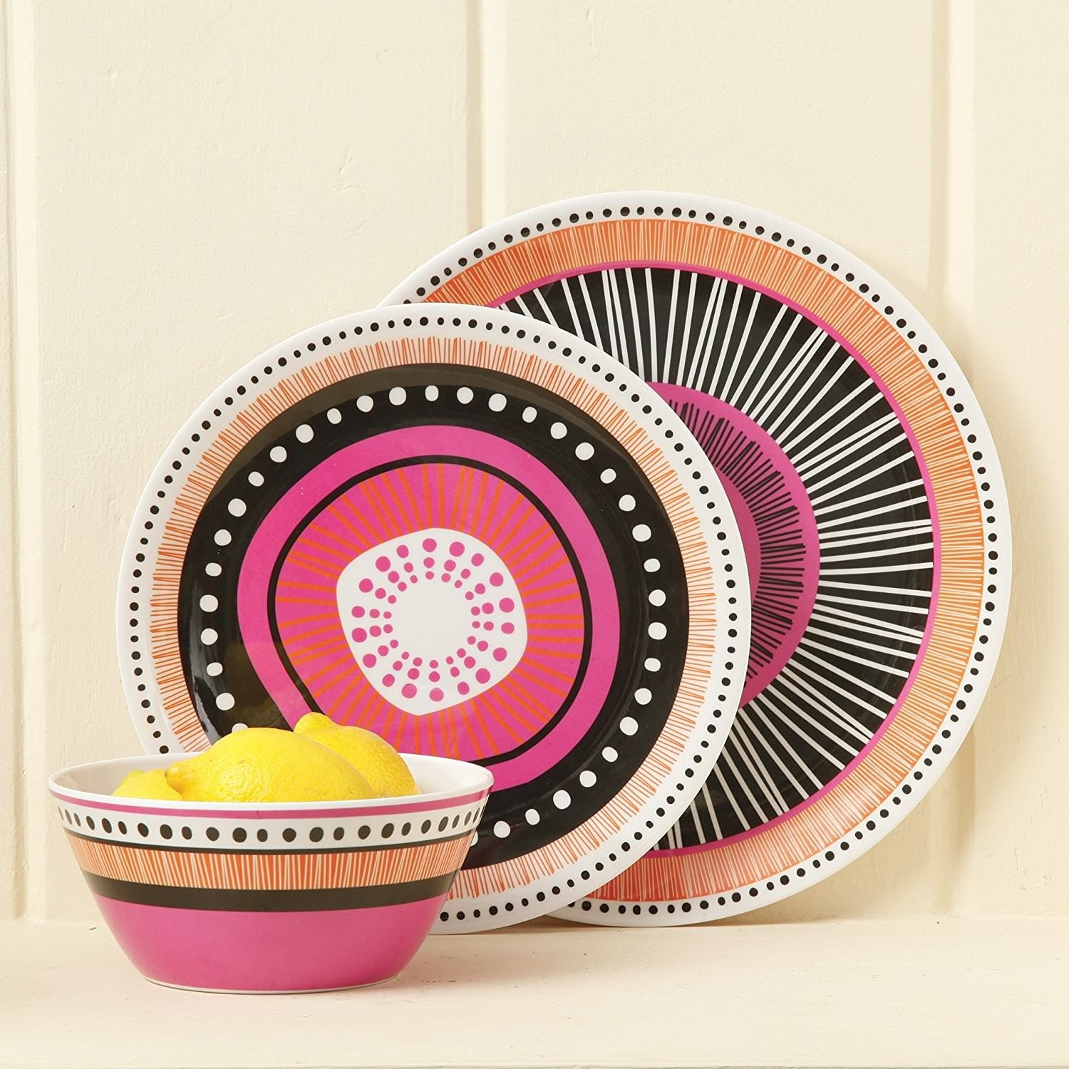 A 12-piece dinnerware set with a funky design to add some charm to your kitchen. It comes with four dinner plates ...  sc 1 st  BuzzFeed & 26 Unexpectedly Attractive Kitchen Products You Can Get From Walmart