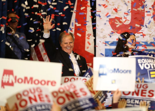 Doug Jones made history last month when he became the first Alabama Democrat to be elected to the US Senate in more than two decades by defeating Roy Moore.