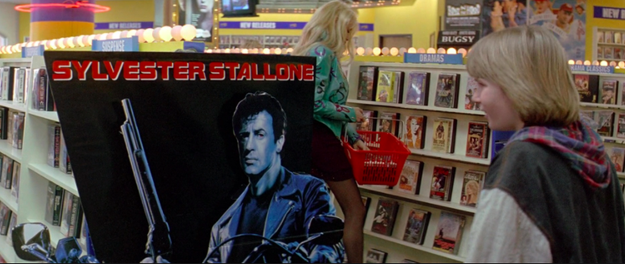 There are ads for The Terminator in Last Action Hero, but starring Stallone.