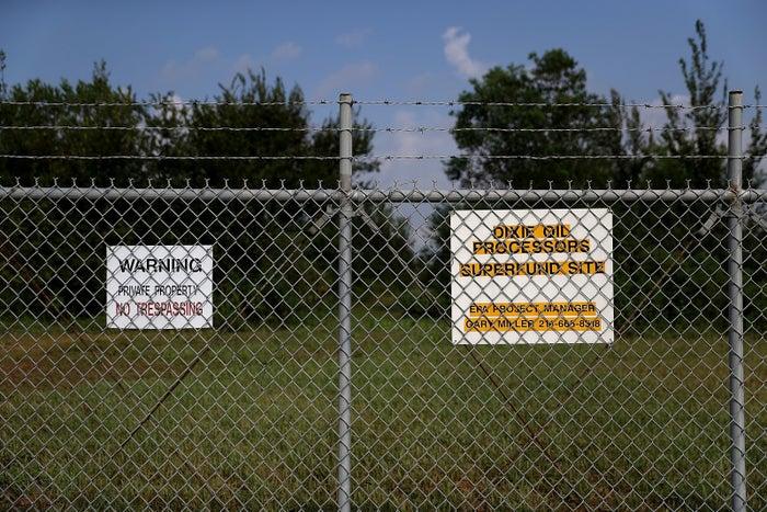 A Superfund site in Texas