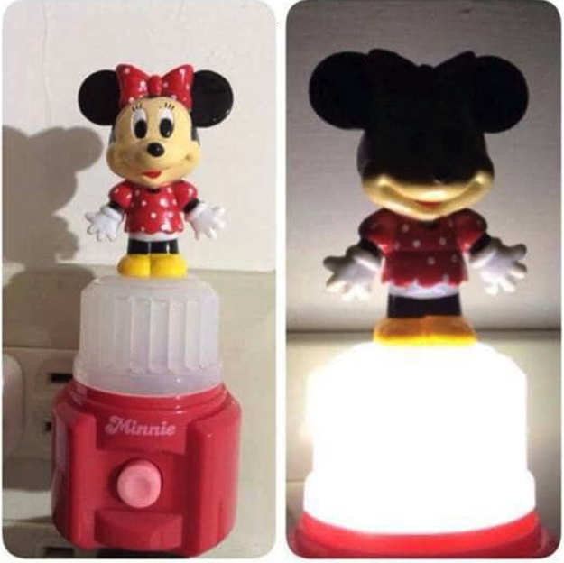 And if someone thought this nightlight would help kiddos sleep, well, that's not happening.