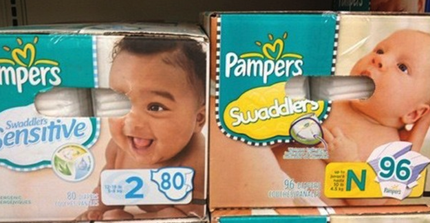 And this diaper packaging is...most unfortunate.