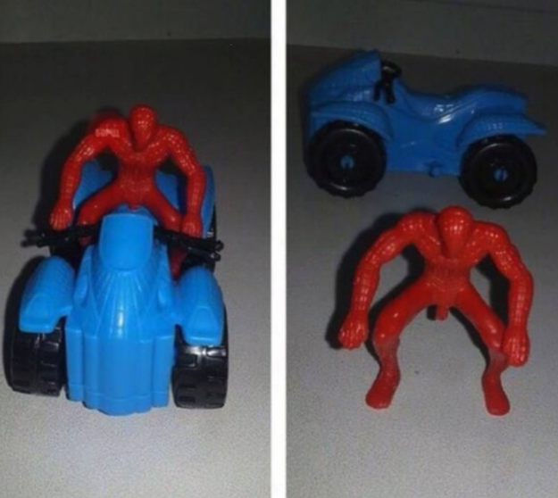 Meanwhile, Spider-Man appears to have grown a new appendage...