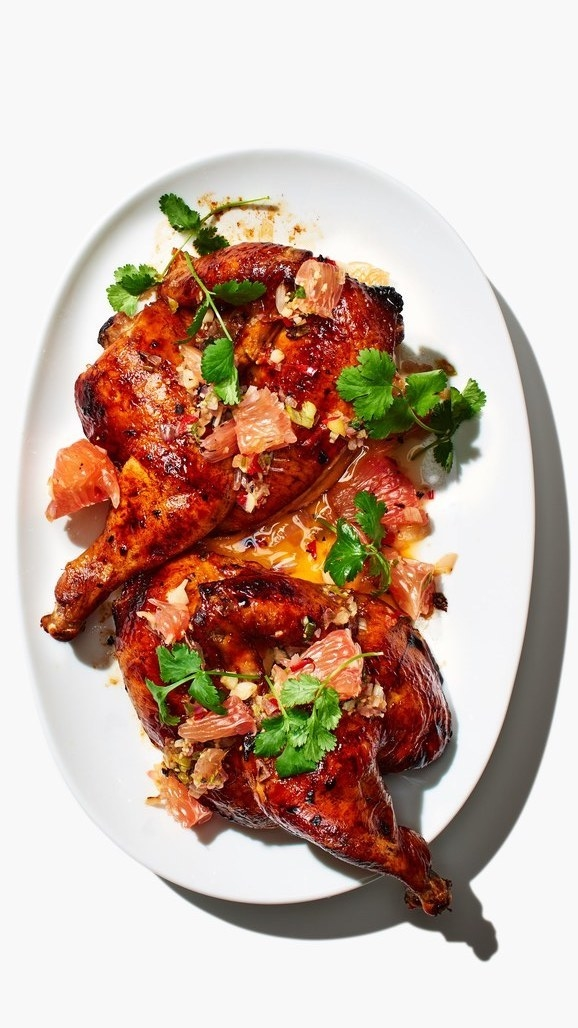 Soy and Citrus Marinated Chicken