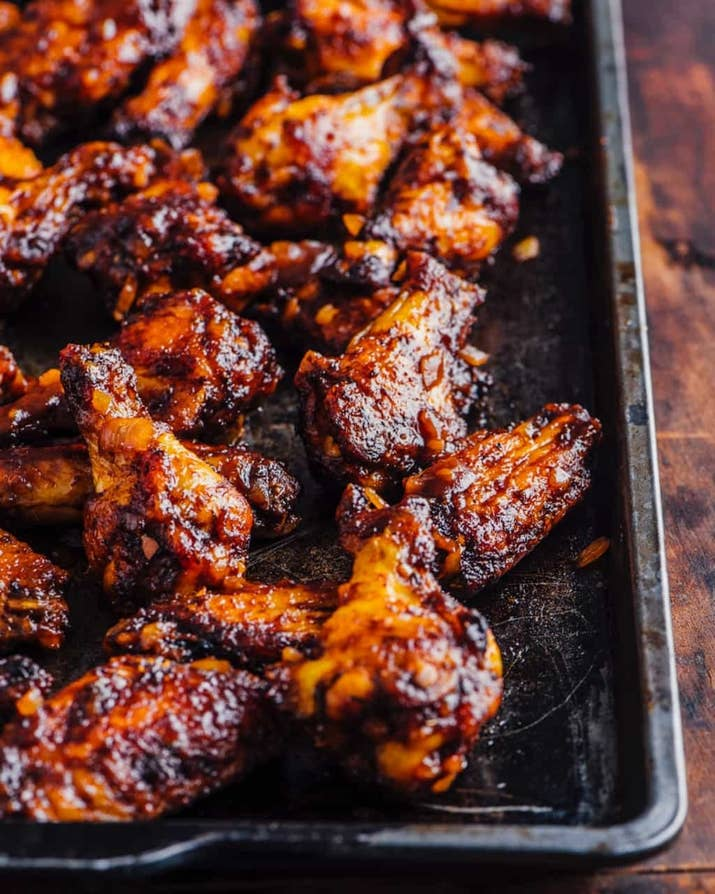 18 roast chicken recipes youll actually want to eat oven barbecued chicken wings forumfinder Images
