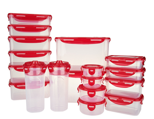 A full 18-piece set of storage containers to prepare you for any leftovers coming your way.