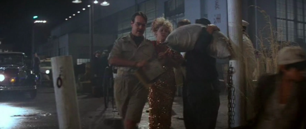 Dan Aykroyd makes a cameo in Indiana Jones and the Temple of Doom.