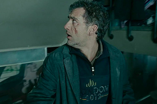 Clive Owen sports a 2012 London Olympics shirt in Children of Men, which was made in 2006.
