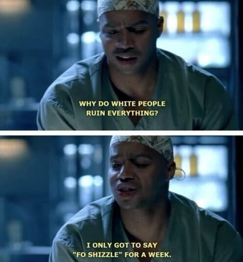When Turk was pissed about appropriation: