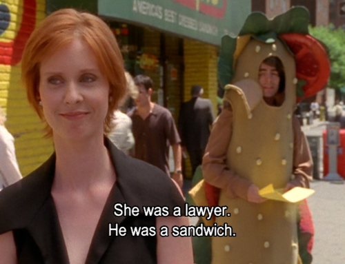 Miranda Hobbes Is Actually My Lesbian Fashion Icon