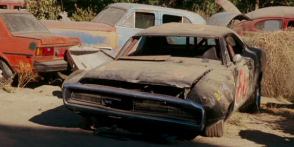 Dom's Dodge Charger from Fast and the Furious can be seen in Herbie: Fully Loaded.