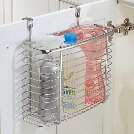 Maybe even an organizer to keep your cleaning supplies neatly stocked under the sink.