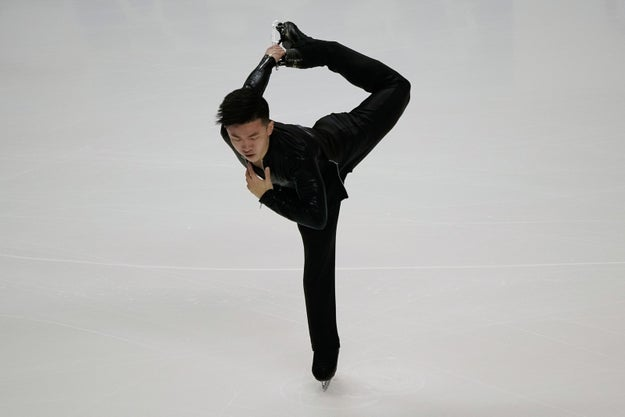 At Thursday's US Figure Skating Championships in San Jose, California, Ma was among the skaters competing in the mens' short program.