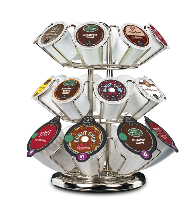 Or maybe this K-cup caddy for easier access.