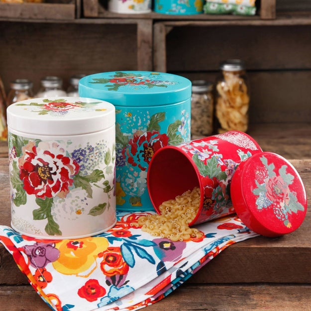 These stylish canisters to keep snacks fresh.