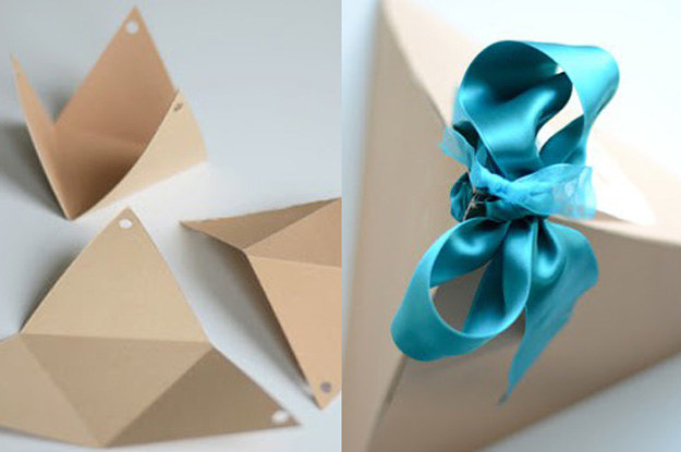 20 easy gift wrapping hacks you still have time to do negle Images