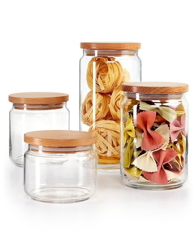 An exclusive Martha Stewart canister set created just for Macy's.