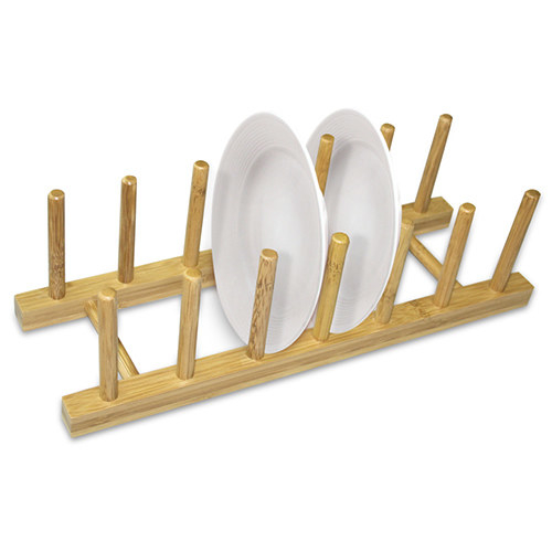 This bamboo dish rack that just plain looks cool.