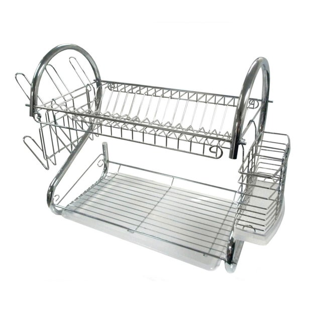 This fancy dish rack that will hold pretty much everything, really.