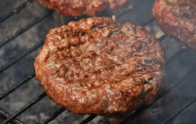Mix it into lean ground meat to make it super moist and add just enough fat.
