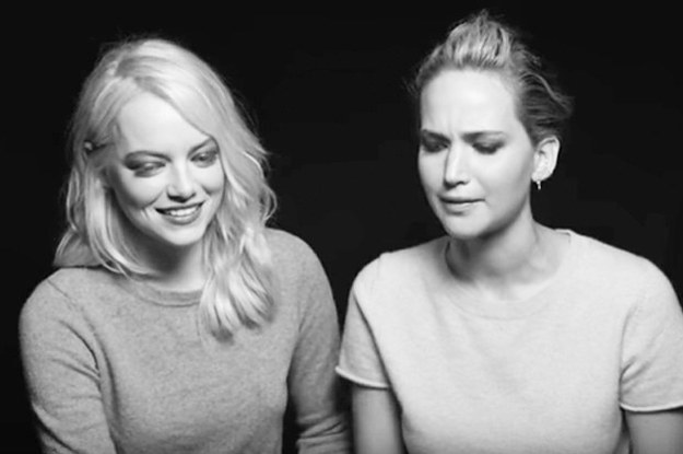 The Story Of Jennifer Lawrence And Emma Stone Meeting Is Very Creepy