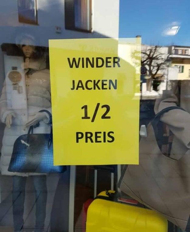 Neulich in Sachsen: