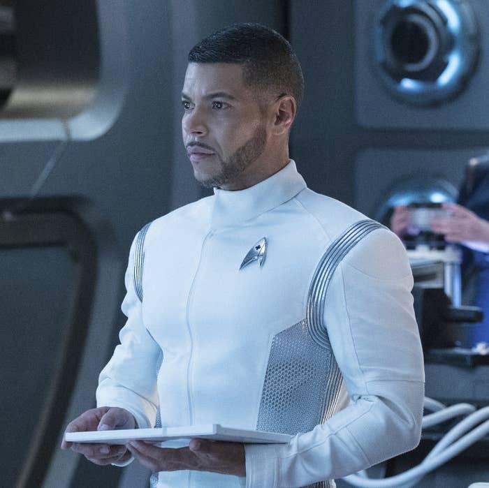 Wilson Cruz on Star Trek: Discovery.