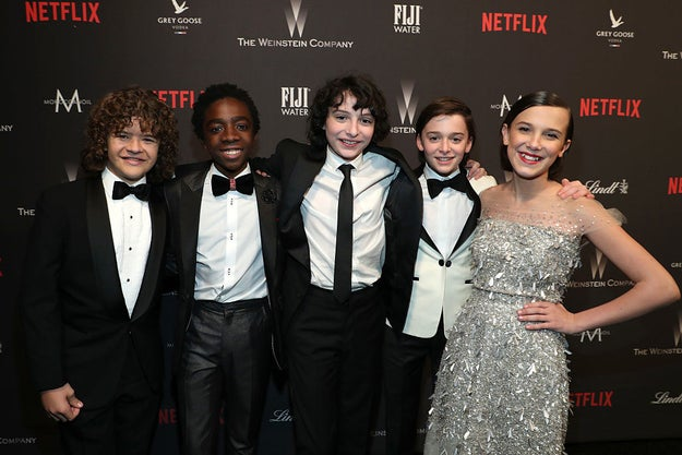 In case you missed it last year, the Stranger Things kids were the best part of the Golden Globes red carpet.