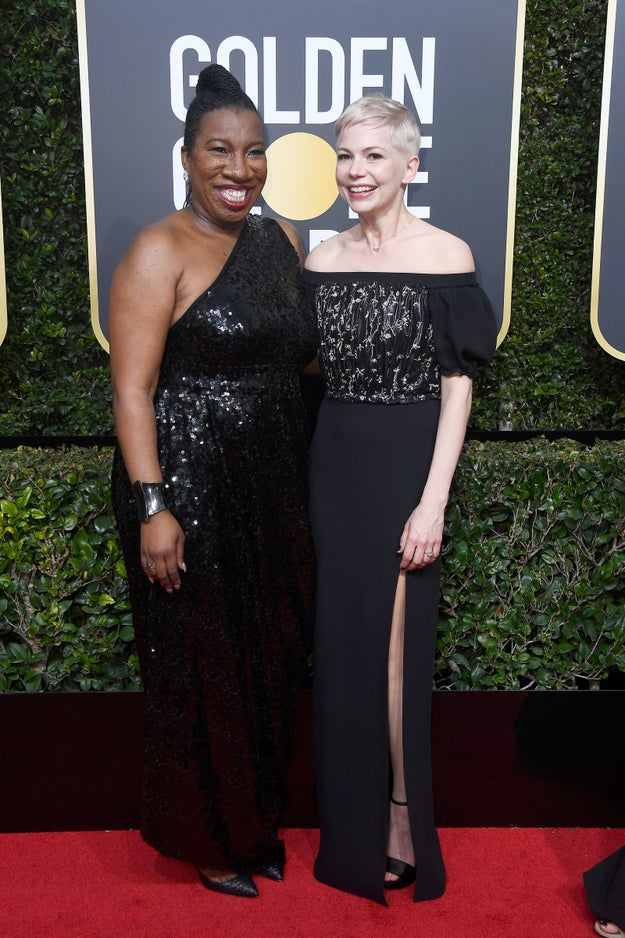 Well, eBay and Conde Nast just announced that they'll be auctioning off dresses and tuxes from a SLEW of Golden Globes attendees. And ALLLLL proceeds will benefit Times Up.