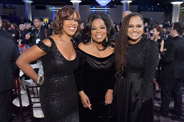 And after a year dominated by headlines of men in Hollywood preying on women, Winfrey stressed the importance of women speaking their truth.