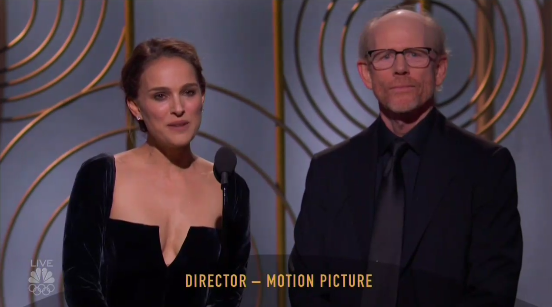The nominees were: Guillermo del Toro for The Shape of Water, Martin McDonagh for Three Billboards Outside Ebbing, Missouri, Christopher Nolan for Dunkirk, Ridley Scott for All the Money in the World, and Steven Spielberg for The Post.Only one woman has ever won the category: Barbra Streisand for Yentl in 1984.